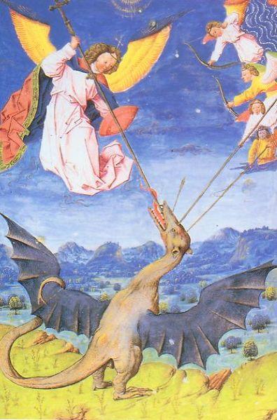 LA SYMBOLIQUE DU DRAGON DANS LES MYTHOLOGIES MONDIALES 396px-Wyvern_Liber_Floridus