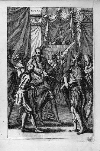 Fut-ce vraiment Christophe Colomb, le premier ? CortezMoctezuma