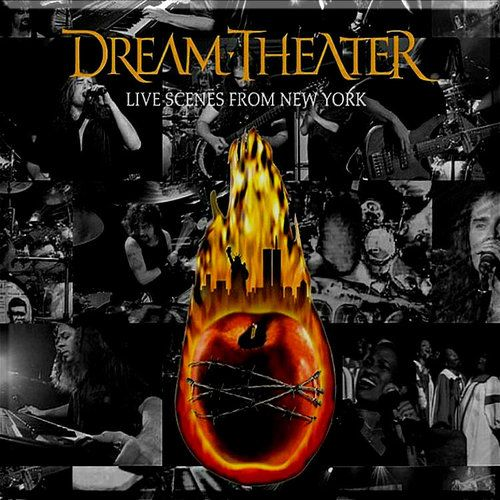 Dream Theater NYC CD cover