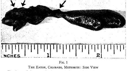 Eaton Colorado meteorito