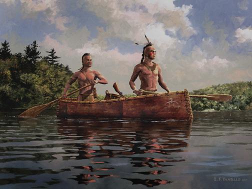 Les aventures transatlantiques des Amérindiens Iroquois