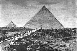 La Science mystérieuse des grands bâtisseurs Pyramides_de_Kheops
