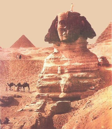 Sphinx -ancienne  photo