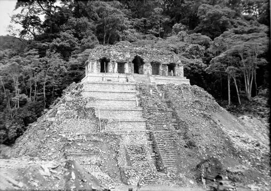 Temple des inscriptions- 1951