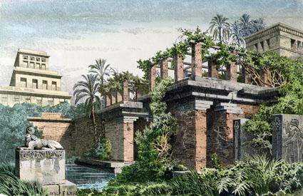 les mythiques jardins suspendus de babylone auraient bien exist mais ailleurs in mysteriam. Black Bedroom Furniture Sets. Home Design Ideas