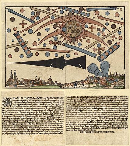ovni Nürnberg vom 14. April 1561-histoire