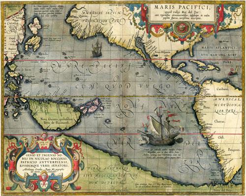 Polynésiens et Pascuans : la navigation dans le sang et l'esprit Pacifique-carte
