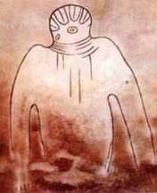 Les peintures rupestres du Tassili, dans le Sahara algérien Tassili