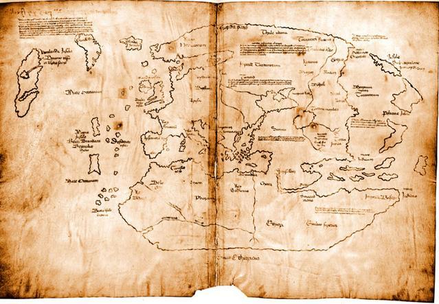 L'histoire de la mystérieuse Carte du Vinland Vinland-carte