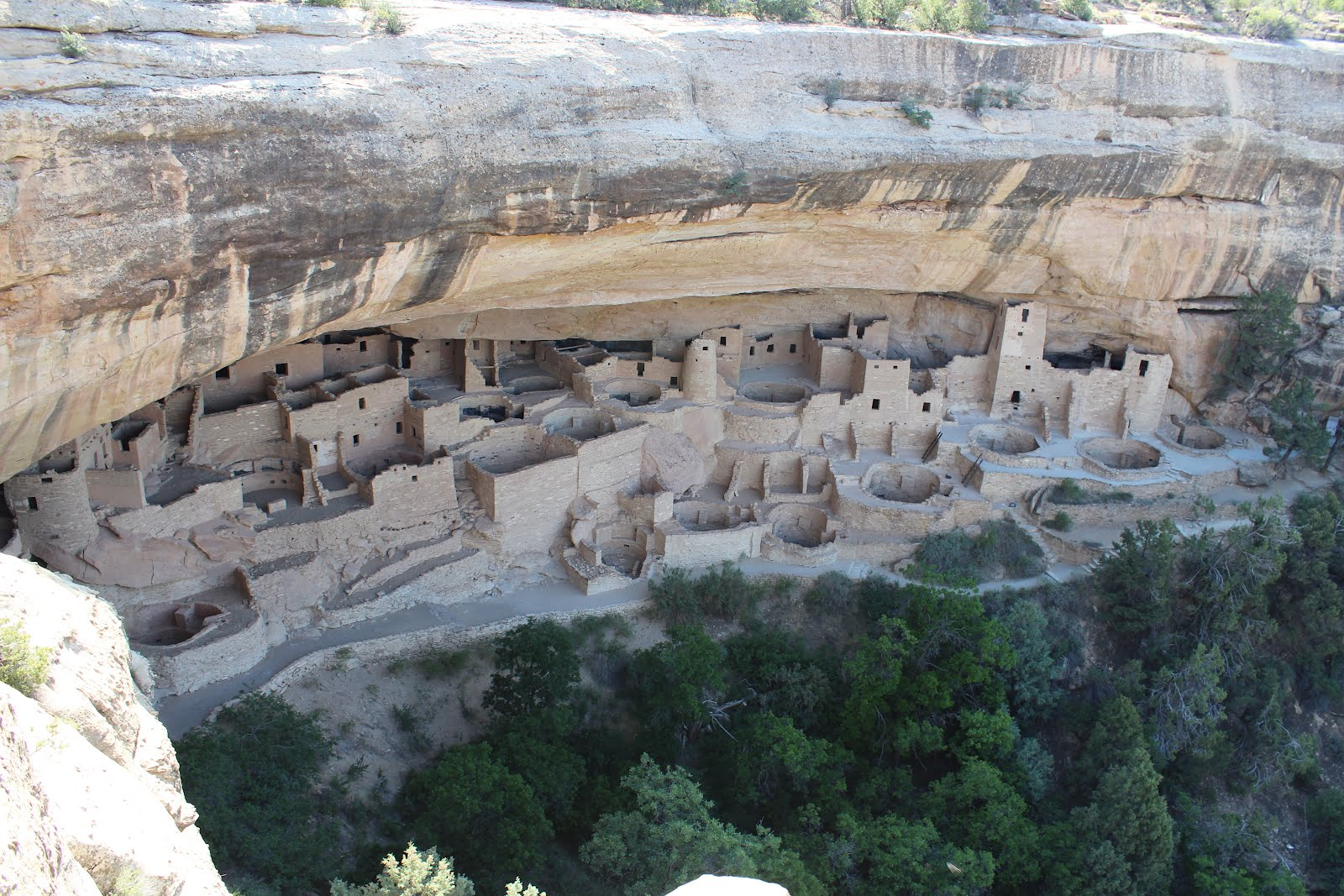 Cliff Palace dans le Parc national de Mesa Verde (Colorado)
