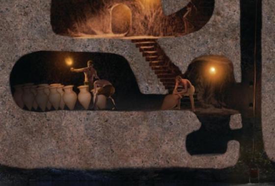 Les anciennes cités souterraines de Cappadoce